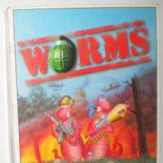 Videojuegos y Consolas: WORMS [TEAM 17] 1995 OCEAN SOFTWARE [COMMODORE AMIGA]. Lote 57399801