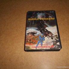 Videojuegos y Consolas: JUEGO MISSILE COMMAND ESTUCHE DURO PARA COMMODORE 64 B.E. MUY DIFICIL !!!!!. Lote 57773933