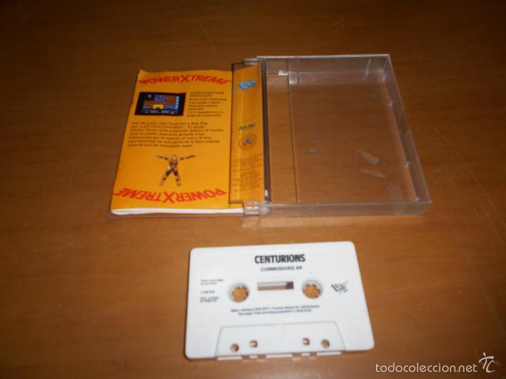 Videojuegos y Consolas: JUEGO CONSOLA COMMODORE CENTURIONS POWER XTREME 1987 - Foto 2 - 58216509