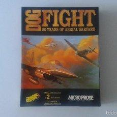 Videojuegos y Consolas - Caja de cartón vacía - Videojuego Dogfight - Erb. 1993 - Commodore, Amiga, Dos, MS-DOS, Atari.... - 59883895
