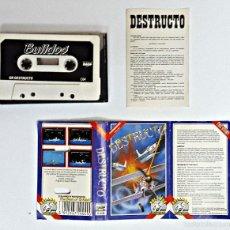 Videojuegos y Consolas: CASETE DE JUEGO COMMODORE DESTRUCTOR. Lote 60803847