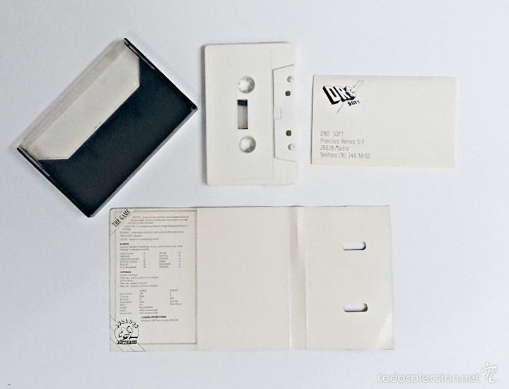 Videojuegos y Consolas: Casete de juego Commodore DESTRUCTOR - Foto 2 - 60803847