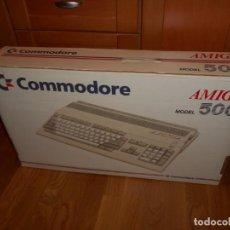 Videojuegos y Consolas: CAJA ORDENADOR COMMODORE AMIGA 500 NUEVA AÑOS 80. Lote 62564692