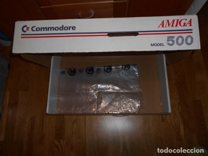 Videojuegos y Consolas: CAJA ORDENADOR COMMODORE AMIGA 500 NUEVA AÑOS 80 - Foto 5 - 62564692