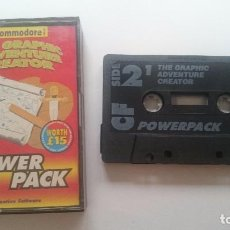 Videojuegos y Consolas: POWERPACK 16. THE GRAPHIC ADVENTURE CREATOR... COMMODORE 64 128 CMB 64 C64 PAL. Lote 64586231