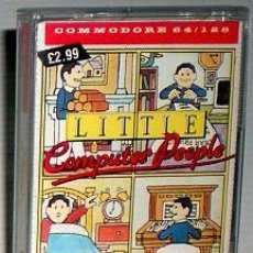 Videojuegos y Consolas: LITTLE COMPUTER PEOPLE [ACTIVISION] 1985 RICOCHET / MASTERTRONIC [COMMODORE 64 C64]. Lote 68064289
