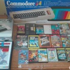 Videojuegos y Consolas: COMMODORE 64 COMPLETO 18 JUEGOS. Lote 76068713