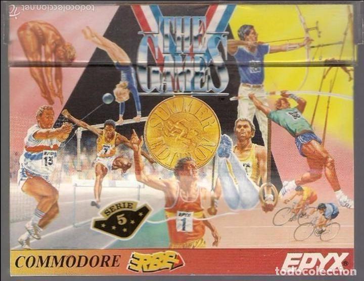 THE GAMES (Juguetes - Videojuegos y Consolas - Commodore)