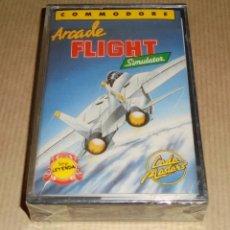 Videojuegos y Consolas: ARCADE FLIGHT SIMULATOR - JUEGO COMMODORE - PRECINTADO. Lote 77095777