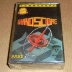 Videojuegos y Consolas: GYROSCOPE - JUEGO COMMODORE - PRECINTADO. Lote 77095845
