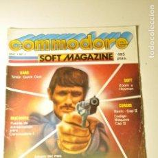 Videojuegos y Consolas: COMMODORE SOFT MAGAZINE - AÑO 1 Nº 2 1985 - COMMODORE 64. Lote 77442161