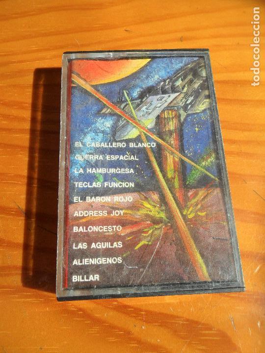 COMMODORE LOAD 'N' RUN: EL CABALLERO BLANCO, GUERRA ESPACIAL, EL BARON ROJO, ALIENIGENOS, BILLAR.... (Juguetes - Videojuegos y Consolas - Commodore)