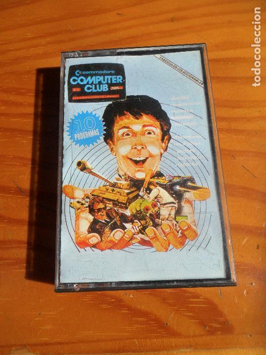 COMMODORE COMPUTER CLUB: ALUNIZAJE, PREGUNTON, CIRCUITO, TOROIDE 3D, ... (Juguetes - Videojuegos y Consolas - Commodore)