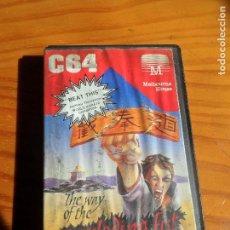 Videojuegos y Consolas: COMMODORE - THE WAY OF THE EXPLODING FIST - CASETE JUEGO - C64 64. Lote 84341360