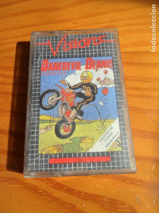 COMMODORE - DAREDEVIL DENNIS - CASETE JUEGO - C64 64 ESPAÑA - (Juguetes - Videojuegos y Consolas - Commodore)