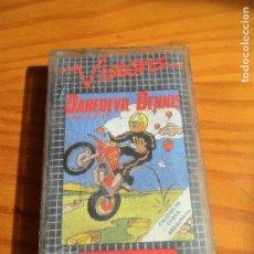Videojuegos y Consolas: COMMODORE - DAREDEVIL DENNIS - CASETE JUEGO - C64 64 ESPAÑA -. Lote 84341656