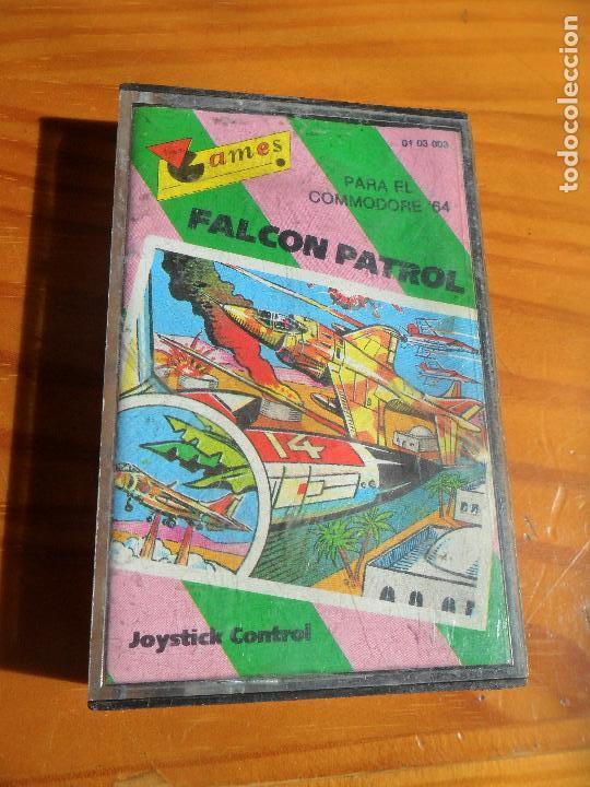 COMMODORE - FALCON PATROL - CASETE JUEGO - C64 64 ESPAÑA - (Juguetes - Videojuegos y Consolas - Commodore)