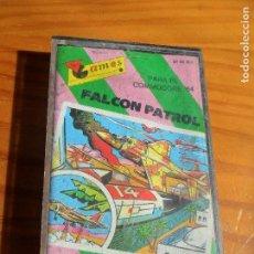 Videojuegos y Consolas: COMMODORE - FALCON PATROL - CASETE JUEGO - C64 64 ESPAÑA -. Lote 84341740