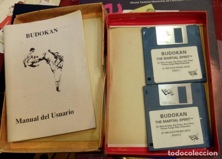 COMMODORE AMIGA 500/1000/2000 BUDOKAN THE MARTIAL SPIRIT . CASTELLANO.FUNCIONA (Juguetes - Videojuegos y Consolas - Commodore)