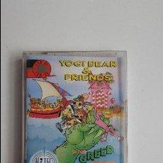 Videojuegos y Consolas: YOGI BEAR & FRIENDS - IN THE GREED MONSTER A TREASURE HUNT - COMMODORE 64 (1990). Lote 84660284