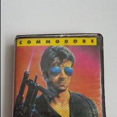 Videojuegos y Consolas: STALLONE COBRA - COMMODORE 64. Lote 84661272