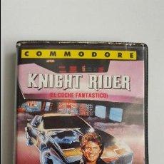 Videojuegos y Consolas: KNIGHT RIDER - EL COCHE FANTASTICO - COMMODORE 64 (MUY DIFICIL DE CONSEGUIR). Lote 84661684