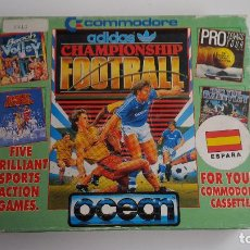 Jeux Vidéo et Consoles: ADIDAS CHAMPIONSHIP FOOTBALL - COMMODORE 64. Lote 84662536