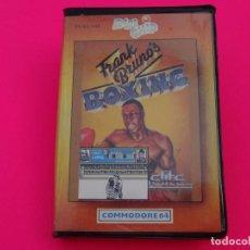 Videojuegos y Consolas: FRANK BRUNOS BOXING FRANK BRUNO'S BOXING COMMODORE. Lote 86760528