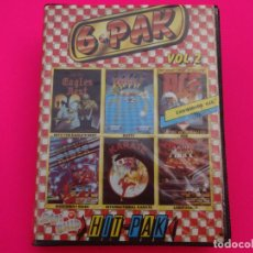 Videojuegos y Consolas: PACK SIX PAK HIT PAK 6 PAK VOLUMEN 2 VOL 2 COMMODORE. Lote 86762064