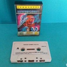 Videojuegos y Consolas: JUEGO COMMODORE WINTER GAMES ERBE . Lote 87220544
