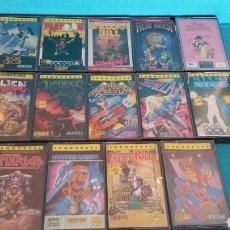 Videojuegos y Consolas: LOTE 14 JUEGOS COMMODORE DONKEY KONG CORTO CIRCUITO PINK PANTHER TERRA CRESTA AÑOS 80. Lote 87277463