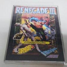 Videojuegos y Consolas: JUEGO PARA COMMODORE 64 RENEGADE III. Lote 87427632