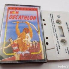 Videojogos e Consolas: JUEGO CASSETTE DECATHLON COMMODORE 64 CMB C64 128.COMBINO ENVIOS. Lote 89830100