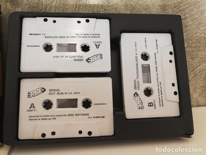 Videojuegos y Consolas: CAJA GENIAL JUEGOS COMMODORE 64 - Foto 2 - 90827430