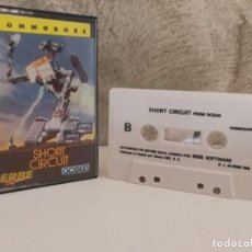 Videojuegos y Consolas: SHORT CIRCUIT CORTOCIRCUITO COMMODORE 64. Lote 90828220