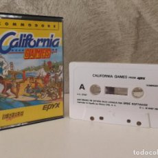 Videojuegos y Consolas: CALIFORNIA GAMES COMMODORE 64. Lote 90828795