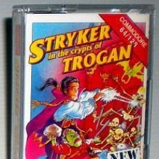 Videojuegos y Consolas: STRIKER IN THE CRYPTS OF TROGAN [SIMMER SOFTWARE] 1992 CODEMASTERS [COMMODORE 64 C64]. Lote 95226915