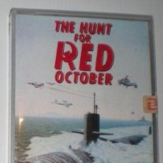 Videojuegos y Consolas: HUNT FOR RED OCTOBER, THE [GRANDSLAM ENTERTAINMENT] 1987 ZAFIRO SOFT [COMMODORE 64 C64] OCTUBRE ROJO. Lote 95227231
