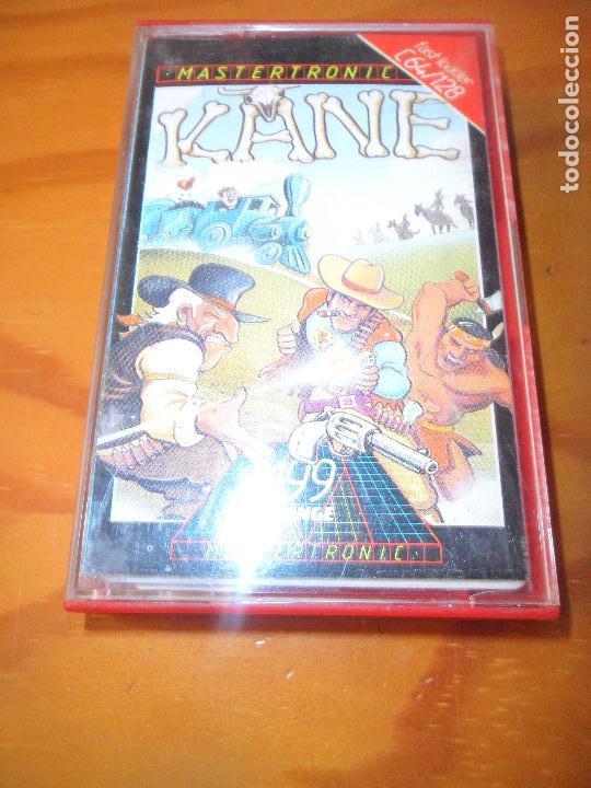 KANE - COMMODORE 64 - CASETE JUEGO - C64 ESPAÑA - (Juguetes - Videojuegos y Consolas - Commodore)