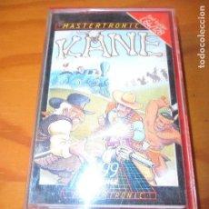 Videojuegos y Consolas: KANE - COMMODORE 64 - CASETE JUEGO - C64 ESPAÑA -. Lote 99371855