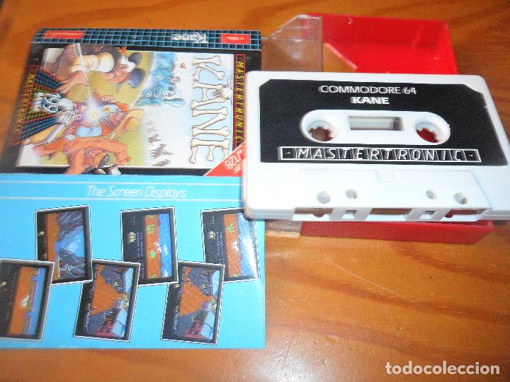Videojuegos y Consolas: KANE - COMMODORE 64 - CASETE JUEGO - C64 ESPAÑA - - Foto 2 - 99371855