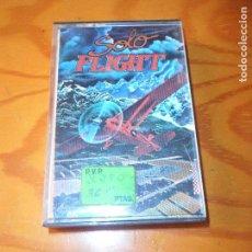 Videojuegos y Consolas: SOLO FLIGHT, SIMULADOR DE VUELO - COMMODORE 64 - CASETE JUEGO - C64 ESPAÑA -. Lote 99371947