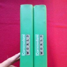 Videojuegos y Consolas: 23 REVISTAS COMMODORE WORLD NUMEROS 37 AL 59 1984 29 CMS 4200 GRS ENVÍO 5€*. Lote 101434535