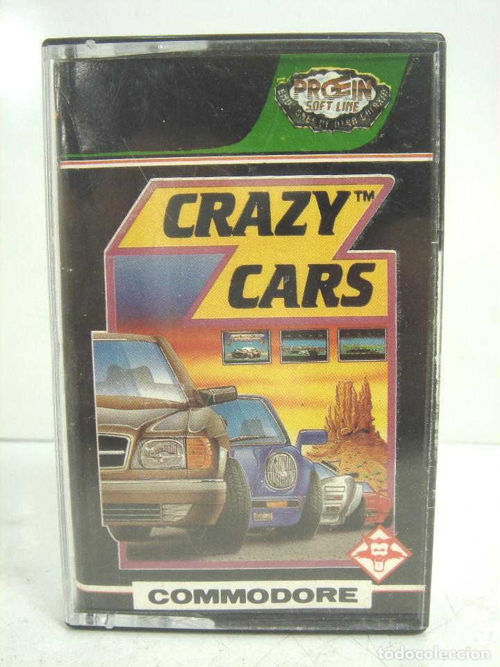 Videojuegos y Consolas: VIDEO JUEGO-COMMODORE -CRAZY CARS -PROEIN CASETE CINTA VIDEOJUEGO -COMODORE AND - Foto 2 - 101942335