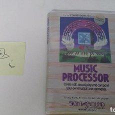 Videojuegos y Consolas: JUEGO PARA COMMODORE 64 MUSIC PROCESSOR . Lote 102154307
