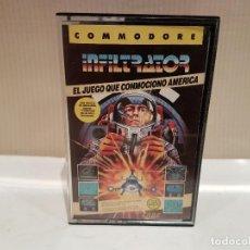 Videojuegos y Consolas: JUEGO COMODORE 64 INFILTRATOR VER FOTOS. Lote 103317663