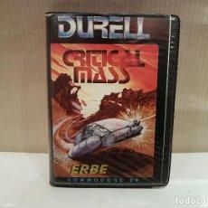Videojuegos y Consolas: JUEGO COMODORE 64 CRITICAL MASS VER FOTOS. Lote 103319879