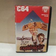 Videojuegos y Consolas: JUEGO COMODORE 64 EXPLODING FIST VER FOTOS. Lote 103320527