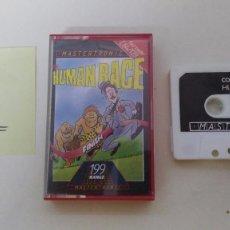 Videojuegos y Consolas: JUEGO PARA COMMODORE 64 HUMAN RACE. Lote 102153571