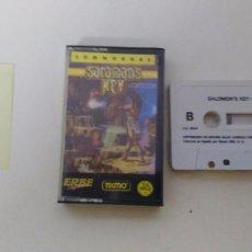 Videojuegos y Consolas: JUEGO PARA COMMODORE 64 SOLOMONS KEY SALOMONS KEY. Lote 102154079